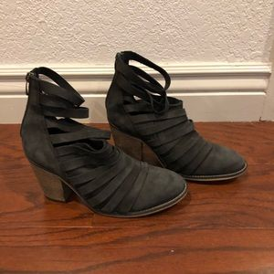 Free people strappy bootie